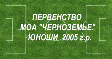 Юноши 2005 года рождения.