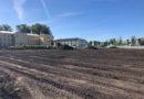 Строительство стадиона в Ильино