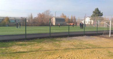 Реконструкция поля в Волово (фотогалерея)